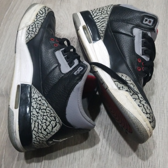 newest 34ff4 226c5 Nike black cement 3